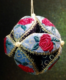 Christmas Rose Ornament