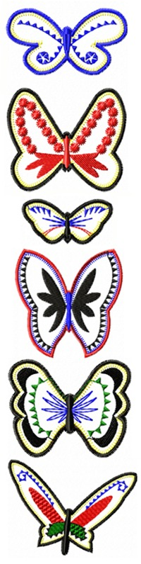 Butterfly Applique Set