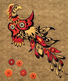 Phoenix Applique Set