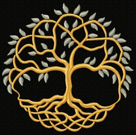 Advanced Embroidery Designs Celtic Tree Of Life Ii