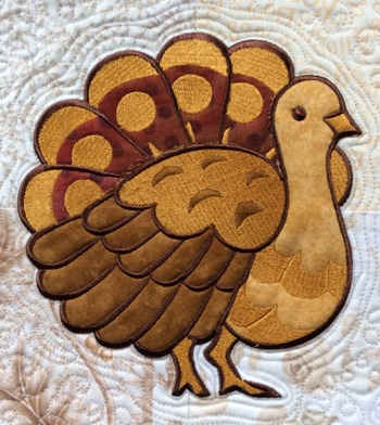Turkey Applique