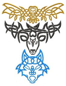 Celtic Animal Set