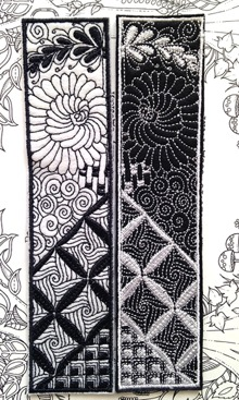 Zen Art Bookmark
