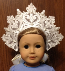Fancy Collar or Crown for 18-inch Dolls