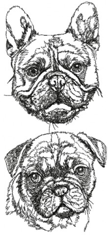 French Bulldog Set