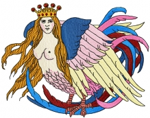 Sirin Fairytale Bird II