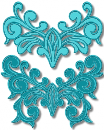 Elegance Applique Motif Set