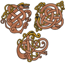 Celtic Dragon Set