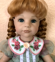 Detachable Peter Pan Doll Collar In-the-Hoop (ITH)