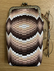 Bargello Small Purse or Glasscase