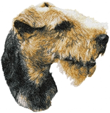Welsh Terrier Machine Embroidery Designs