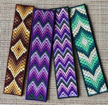 Bargello Bookmark Set