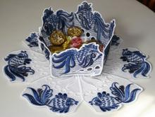Fairy Tale Fish Bowl and Doily Set