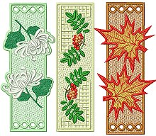 FSL Autumn Bookmark Set