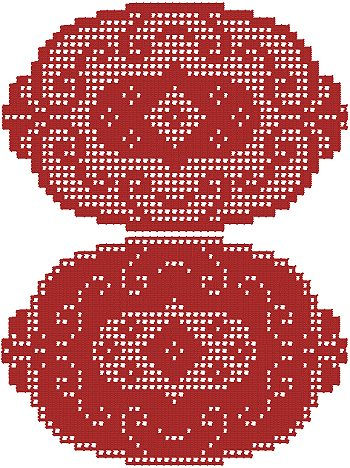 Crochet Collection: Free Crocheted Pineapple Doily Patterns