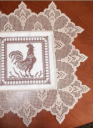 Advanced Embroidery Designs Calla Lily Crochet Border Set