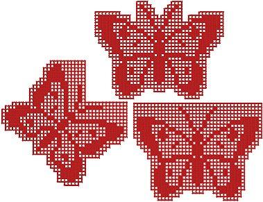 Butterfly Crochet Set