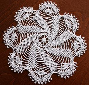 crochet doily pattern on Etsy, a global handmade and