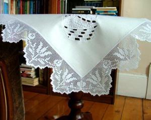 Tulip FSL Crochet Edge Lace