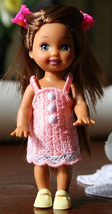 FSL Summer Dress for 4-in Dolls