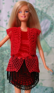 FSL Crochet Summer Garments for 12-in. Dolls