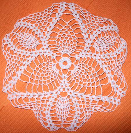 Advanced Embroidery Designs Fsl Crochet Pineapple Doily V