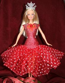 FSL Fancy Ball Dress Bodice and Tiara for 12-inch Dolls