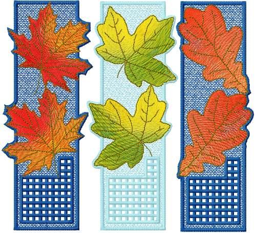machine embroidery bookmarks free design