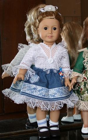 Lace-Trimmed Outfit for 18-inch Dolls