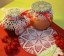 FSL Crochet Flower Doily Set