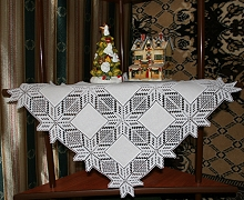 FSL Crochet Applique Winter Star Set