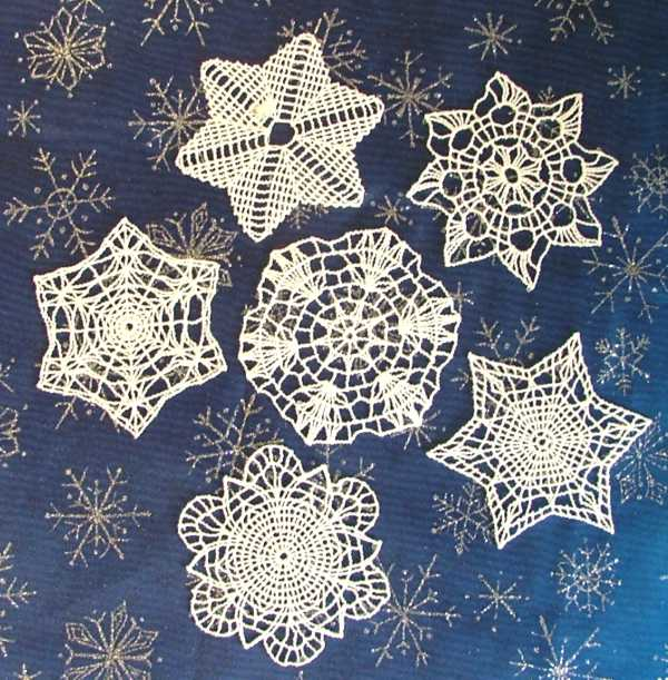 Snowflake- Christmas Crochet pattern. - Crafts - Free Craft