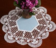 FSL Crochet Fan Doily