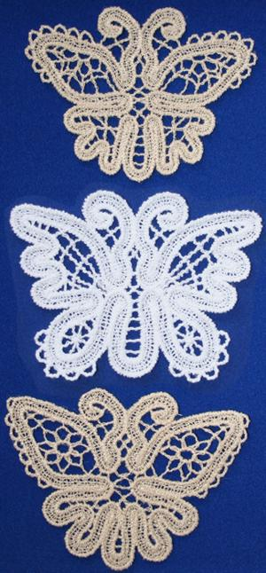 FSL Battenberg Butterfly Lace Set