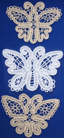 FSL Battenberg Butterfly Lace Set