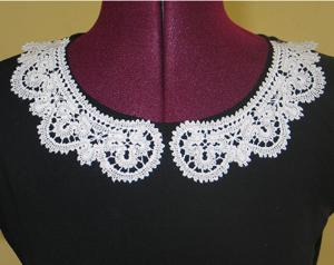 FSL Battenberg Lace Collar Set