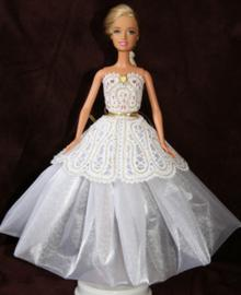 FSL Battenberg Lace Ball Dress for 12 in. Dolls