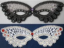 FSL Battenberg Masquerade Lace Mask Set