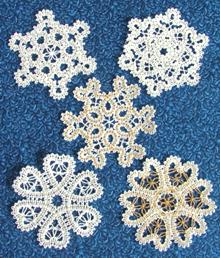 FSL Battenberg Snowflake Set for Small Hoop