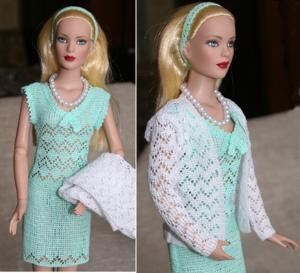 Jacket and Dress Outfit for Tonner 16-in Dolls