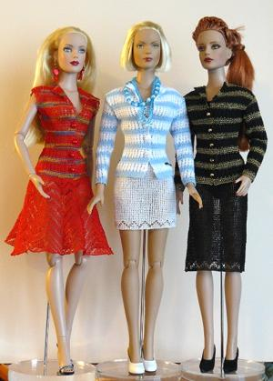 Classic Jacket and Skirt Outfit Set for Tonner 16-in Dolls