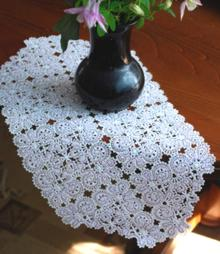 FSL Battenberg Princess Marie Lace Table Runner