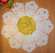 FSL Battenberg Sunflower Doily