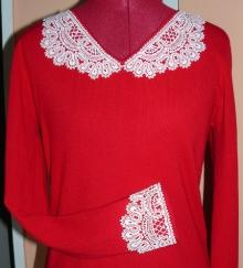 FSL Battenberg Lace Collar and Cuff