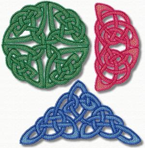 FSL Celtic Knotwork Set