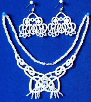 FSL Celtic Necklace and Earring Set