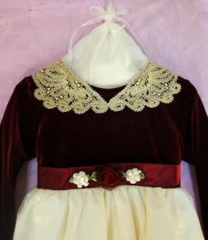 FSL Battenberg Lace Collar for a Girl