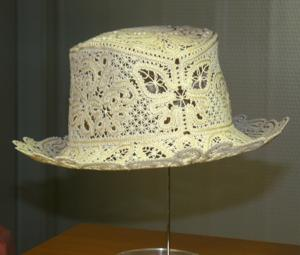 FSL Battenberg Lace Summer Hat II