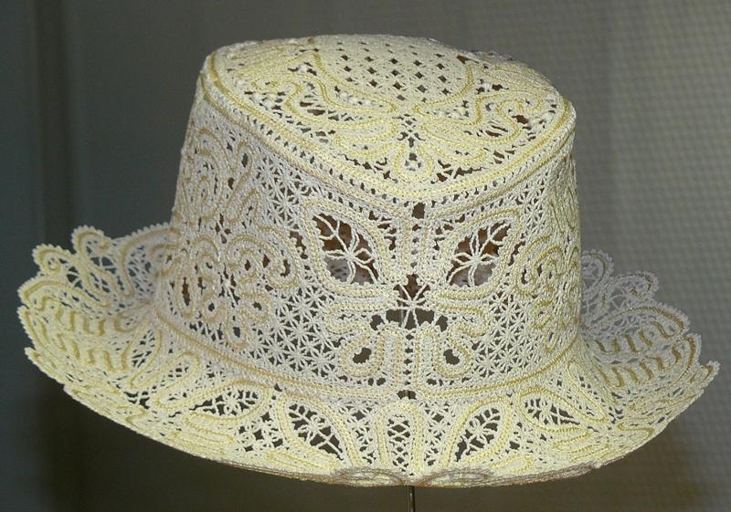 Advanced Embroidery Designs Fsl Battenberg Lace Summer Hat Ii