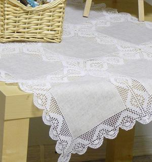 Crochet Pattern Central Edgings : EMBROIDERY CROCHET BORDER PATTERN CROCHET